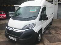 2014 64 CITROEN RELAY 2.2HDi ( 130 ) Heavy 35 L3H2 ENTERPRISE SAT-NAV / AIR-CON