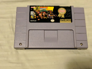 Donkey Kong Country 2 Diddy Kong Quest SNES