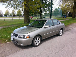 Nissan Sentra GXE 2002, excellent city or student car!