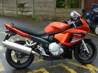 SUZUKI GSX650F IN ORANGE 3841 MILES 2009 59 PLATE