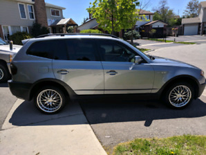 2005 BMW X3 RARE 6 speed manual fully loaded, AWD w/ summer and