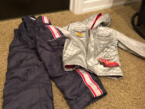Fall, spring, winter jacket and snow pants, size 4