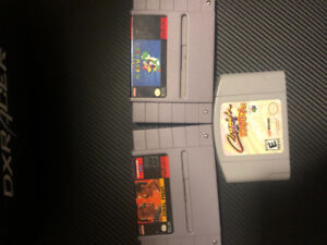Nintendo 64 and Super Nintendo Games