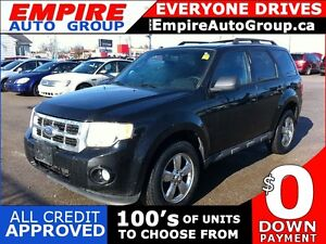 2009 FORD ESCAPE XLT AUTOMATIC 3.0L | CLOTH | SUNROOF