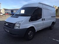 2007 FORD TRANSIT VAN T350M MWB RWD 140BHP DIESEL CREW CAB 2x REAR SEATS GREAT CONDITION