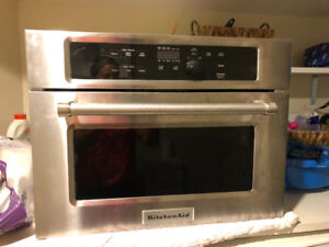 Kitchenaid built in microwave. Practically new