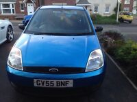 FIESTA STUDIO 72k SERVICE HISTORY 1242cc 2 PREVIOUS OWNERS