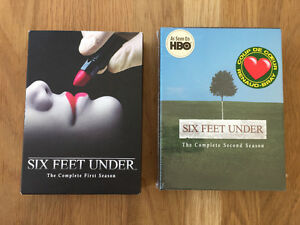 Six feet under DVD seasons 1 and 2 West Island Greater Montréal image 1
