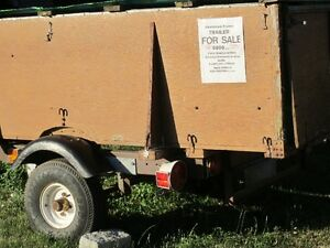 trailer, 250.00, wired for electrical, boat trailer in past