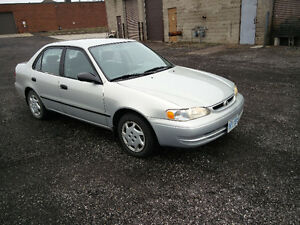 1999 Toyota Corolla CE **AS IS**