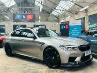 2018 BMW M5 4.4 V8 Steptronic xDrive (s/s) 4dr Saloon Petrol Automatic