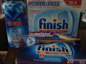 FINISH POWERBALL DISHWASHER TABS/JETDRY