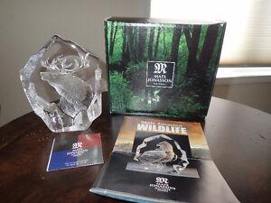 Mats Jonasson Wildlife Art Crystal - Elk