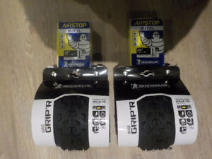Michelin Wild Grip'r Tires and tubes - Brand New