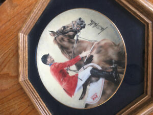 Masters of the Moment Horse Plate
