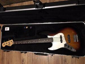 Fender jazz bass left hand  Kitchener / Waterloo Kitchener Area image 1