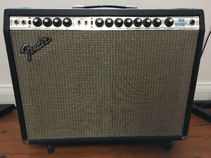 FOR SALE: FENDER TWIN REVERB AMPLIFIER