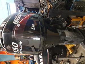 150 HP Merc outboard