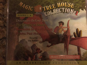 Magic Tree House Books 1-4 audio book