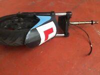 Honda Dylan PS125 NES125 front shocks