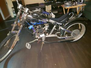 Chopper bicycle 80cc (brand new)