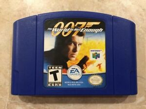 A vendre : 007 The World is not Enough ( Nintendo 64 ) N64 game.
