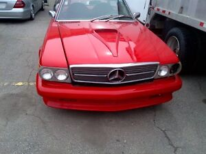 TRADE 1974 CUSTOM MERCEDES SPORTS CONVERTIBLE FOR BOAT