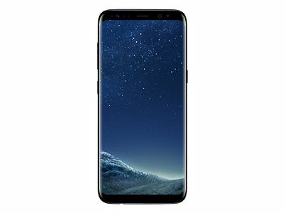 New Samsung Galaxy S8 Midnight Unconscionable 64GB Factory Unlocked Clean IMEI