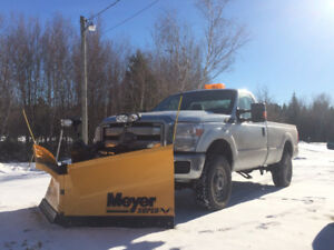 2015 Ford F-250 Meyers V Plow