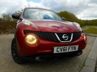 2011 Nissan Juke 1.5 KURO DCI 5d 110 BHP....DIESEL....6 SPEED....ELECTRIC FOLDIN