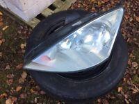 Ford Focus mk1 passenger headlight