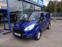 2015 FORD TRANSIT CUSTOM 270 TREND LOW ROOF - AIR CON - CRUISE CON - FSH 1 OWNER