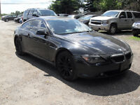 2006 BMW 6-Series 650 WE FINANCE ALL TYPES OF CREDIT
