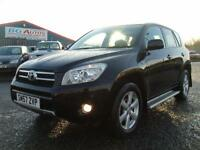 2008 TOYOTA RAV4 2.0 XT-R VVT-I 4WD BLACK LOW MILES 1 OWNER