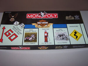 Harley Davidson Monopoly - LIVE TO RIDE EDITION