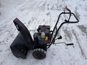6 used refurbished snowblowers up to 7 yrs engine warranty