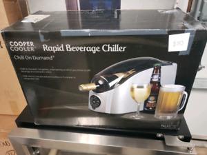 Rapid beverage chiller