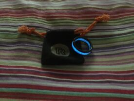 Carbon Rune ring new condition