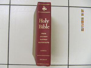 Holy Bible From Ancient Eastern Manuscripts By Lamsa/Holman1968