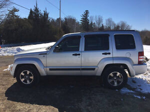 2008 Jeep Liberty sport SUV, Crossover (SAFETY & E-TEST )
