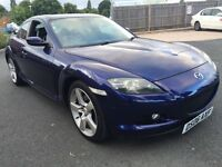 MAZDA RX-8 2.6 SPORT 231 BHP IMMACULATE THROUGH OUT FULL HISTORY DRIVES WELL 2006
