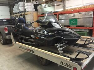 2007 Arctic Cat T660 & Tilt trailer