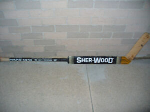 Sher-wood Hockey Goalie Stick - Brodeur Style  TRADE?