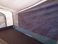 Moldy tent trailer? No problem! Tent trailer canvas cleaning