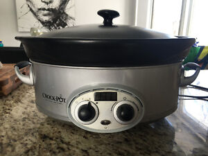 Crockpot slow cooker - mijoteuse 3 intensités