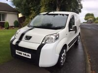 Price drop .BARGAIN 2012 PEUGEOT BIPPER LOW MILES.MAY PX. Berlingo partner nemo caddy