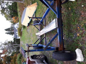 Boat trailer for sale .
