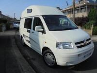 LEISUREDRIVE CRUSADER, VW T5 CAMPER, 4 BERTH, HI TOP, 75,000 MILES, EXCELLENT