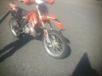 Motocross ktm sx 250cc