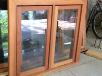 Loewen Wood Thermal Pane Casement Windows
